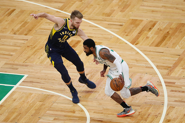c12a1a96cca2 Kyrie Irving Debuts Kobe-Inspired Nike Kyrie 5 For Game 2 In Boston ...