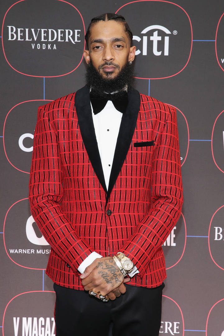 Nipsey Hussle's Murderer's Driver Seen In Footage Flooring It From Scene: Report