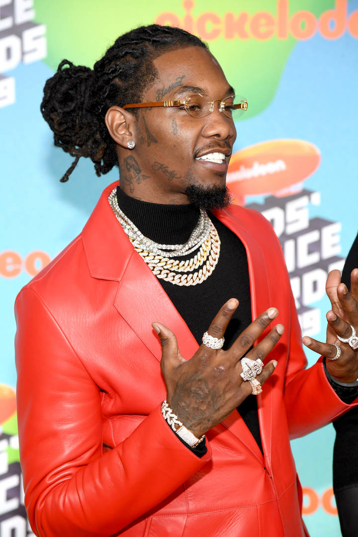 Offset Charged With Felony Gun Possession In Atlanta Arrest