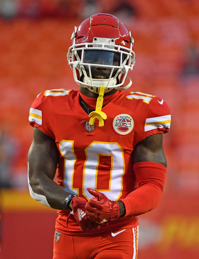 District Attorney announces no criminal charges will be filed against Tyreek Hill