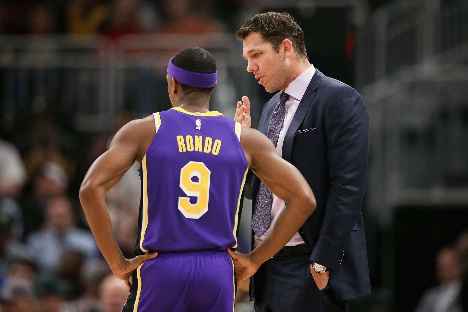 Warriors, Lakers release statements regarding Luke Walton accusation class=