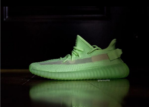"Adidas Yeezy Boost 350 V2 ""Glow In The Dark"" Releasing This Summer: Detailed Look"