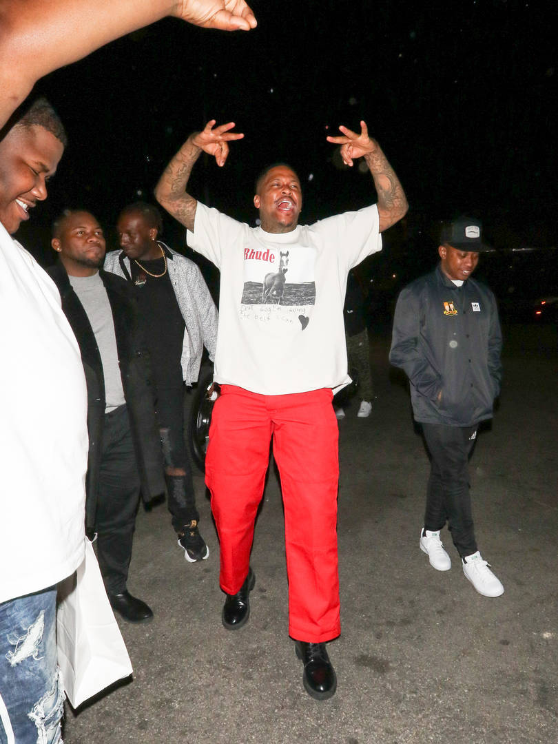 "YG Debuts ""Stop Snitching"" At Coachella With 6ix9ine's Mugshot"