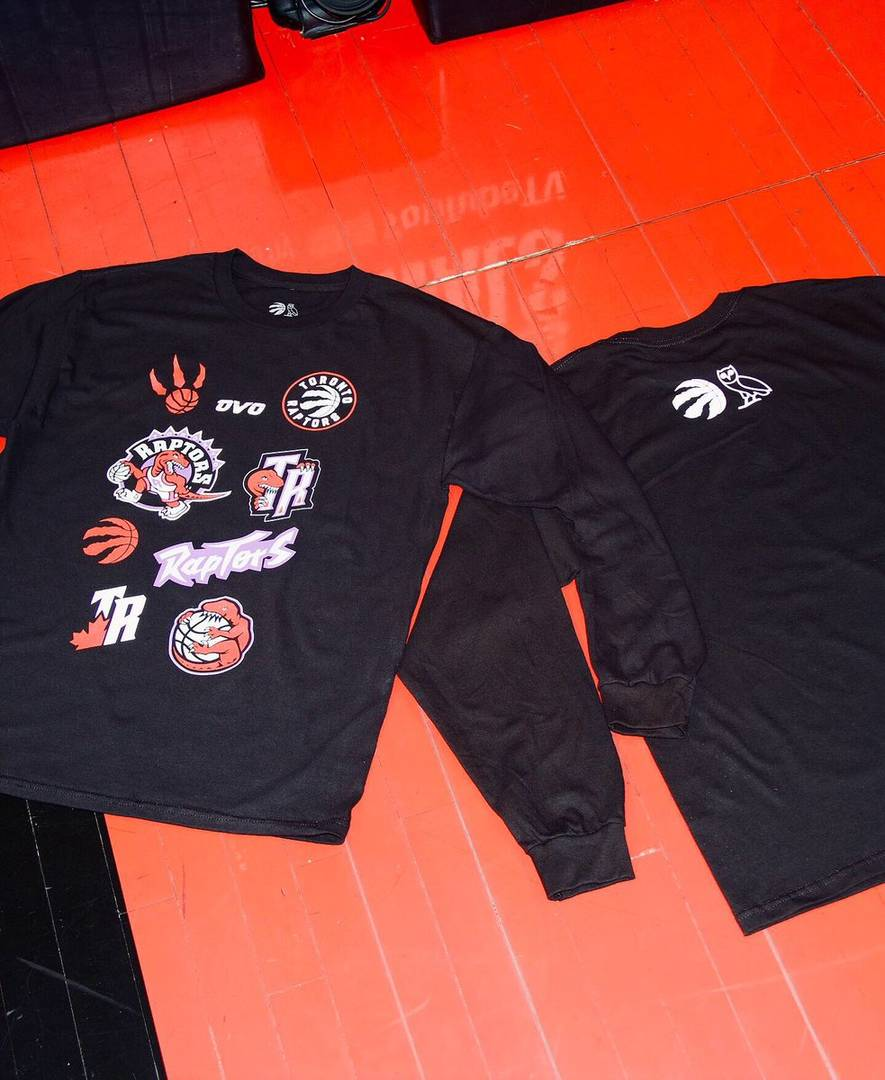 dc9071bfa5e Raptors Reveal OVO Branded T-Shirts For Game 1 Of NBA Finals