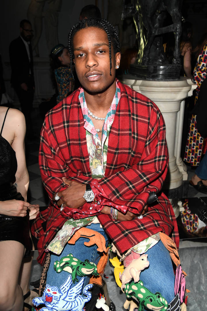 Asap Ferg Tour 2020 ASAP Rocky Steals The Gucci Show With His Stuffed Animal Inspired