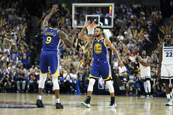 """Andre Iguodala Say Steph Curry Is """"The Second Best Ever"""""""