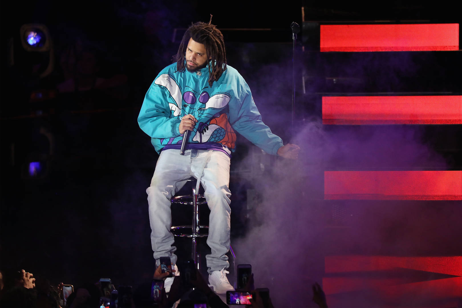 J.I.D. Brings Out J. Cole, Joey Bada$$, A$AP Ferg & More In NYC