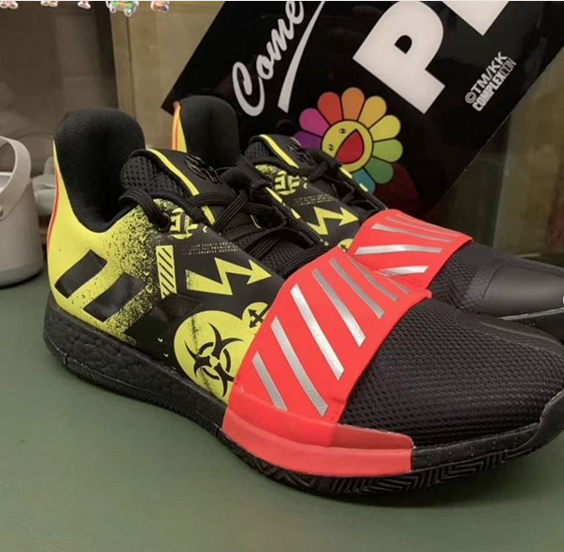 f13056fca1b5 James Harden s Adidas Sneaker Surfaces In