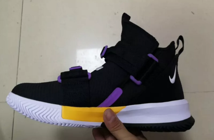the latest 5b249 fd66d Nike LeBron Soldier 13 Surfaces In Lakers Colorway: First Look