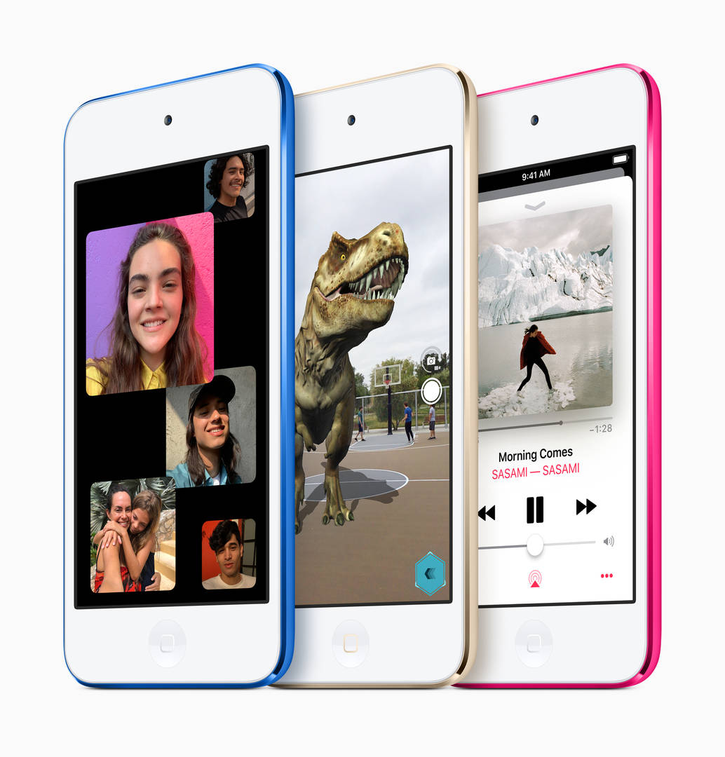 Apple's New iPod Touch Features Group FaceTime & AR Experiences