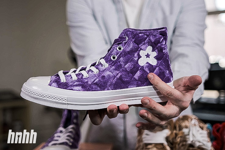 "Sneaker Review: Golf le Fleur x Converse ""Quilted Velvet"" Pack"