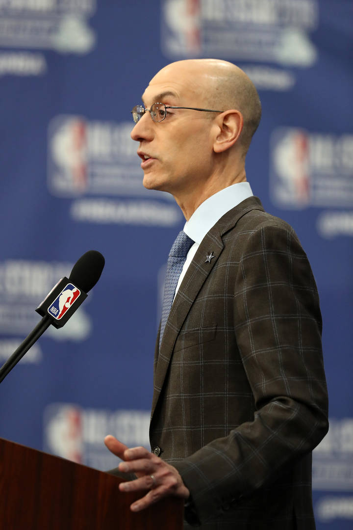 e8c9ce0cc2e1 Adam Silver Promises More NBA Refs And Coaches Will Be Women