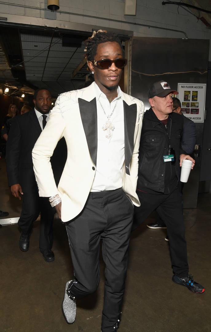 Young Thug Not The Target In Shooting, Spokesperson Claims