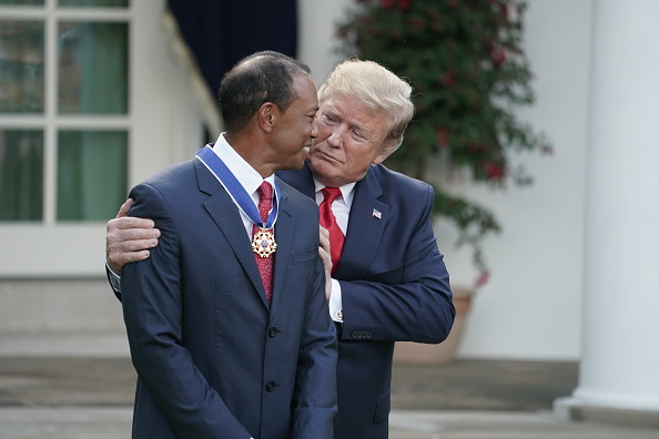 In post-Masters victory lap, Tiger Woods receives Presidential Medal of Freedom