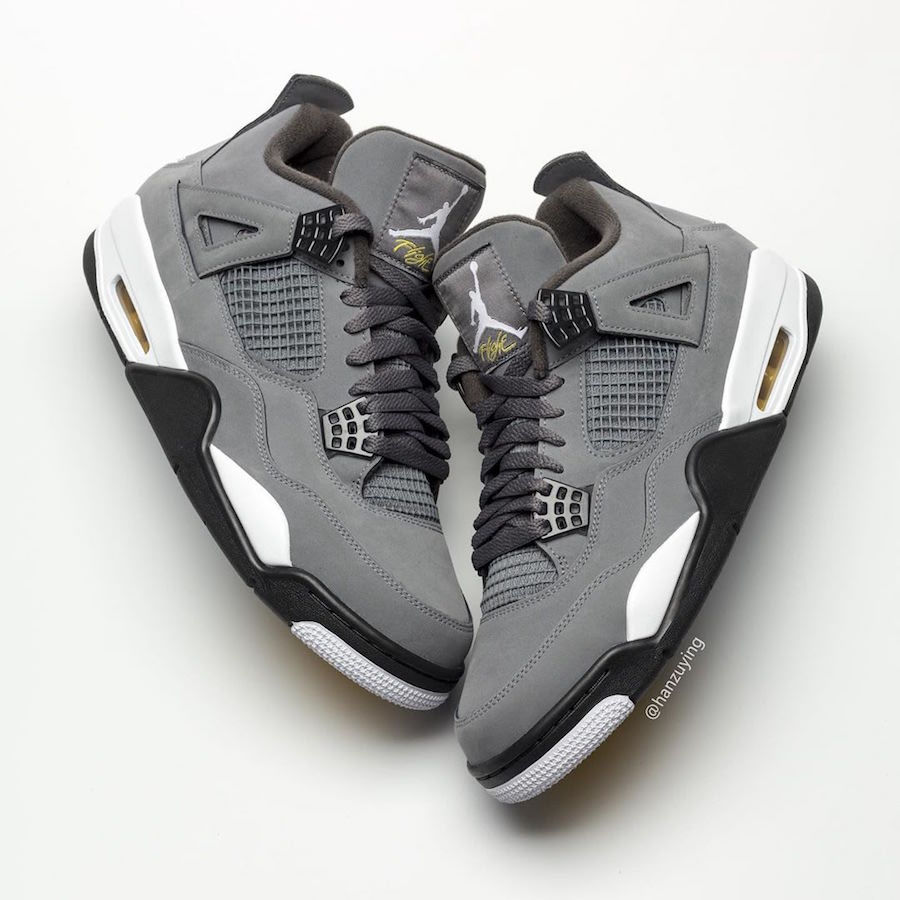"""Air Jordan 4 """"Cool Grey"""" Returning For First Time Since 2004: First Look"""