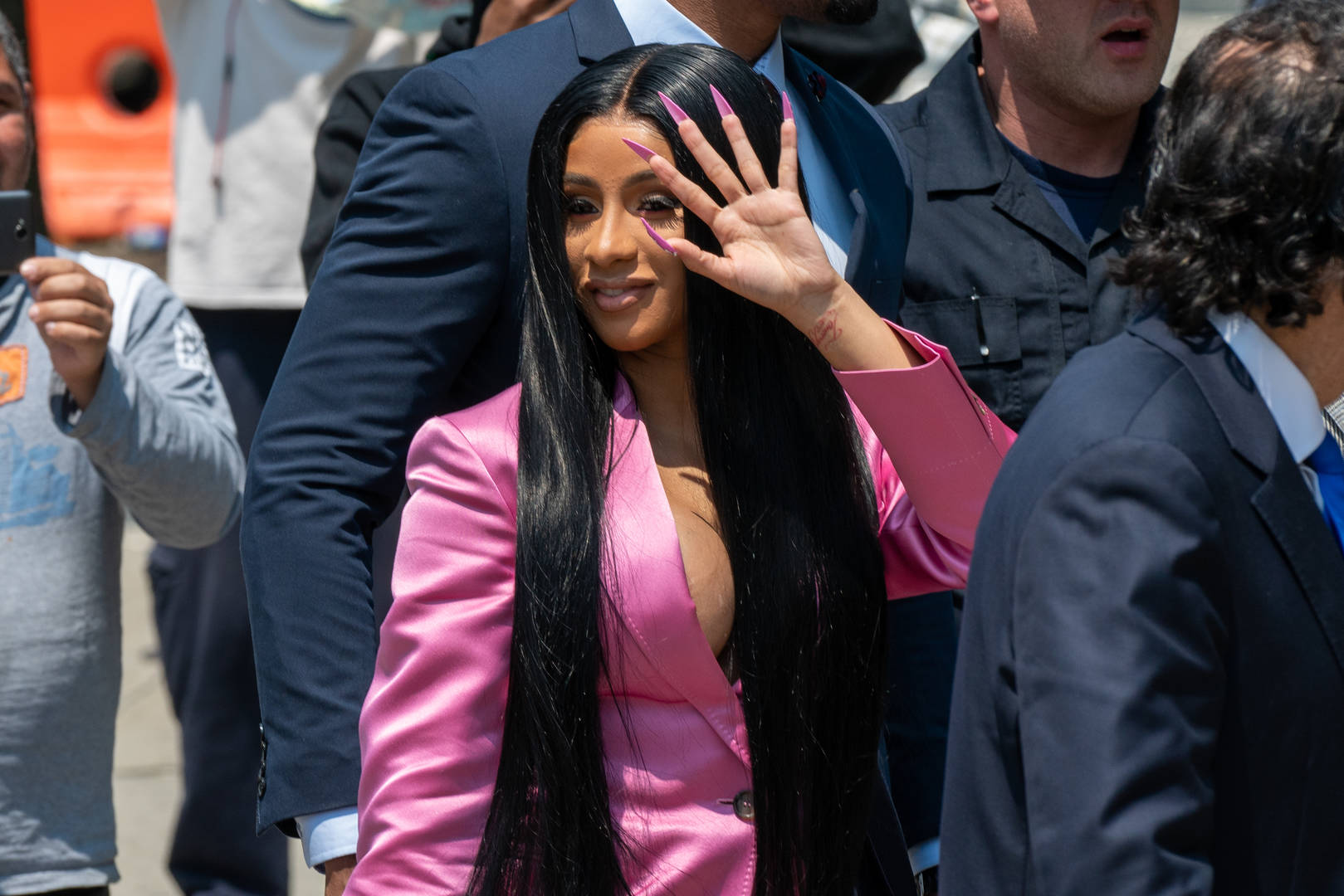 Cardi B Shows Off One Of The Shocking Side Effects To Cosmetic Surgery