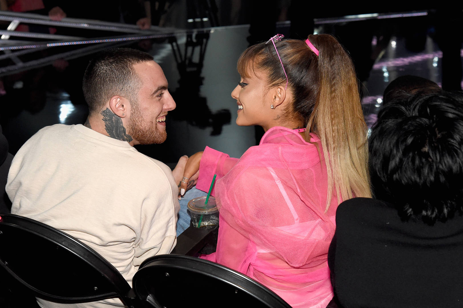 Ariana Grande Tears Up Paying Tribute to Late Ex Mac Miller Onstage