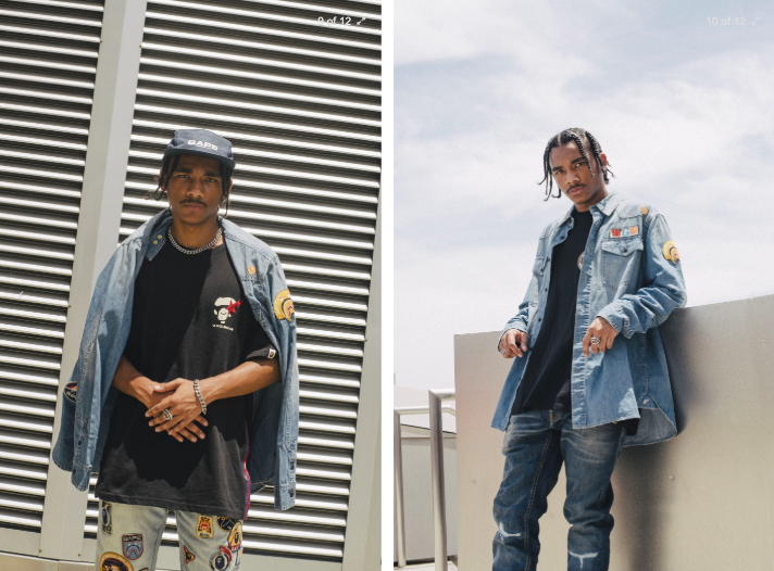 """Bape Returns With A Dope """"Planet Of The Apes"""" Inspired Denim Collection"""