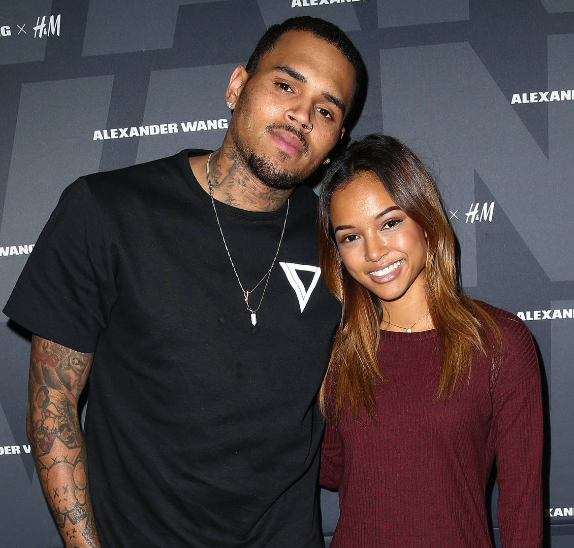 Chris Brown is going to be a father for the second time