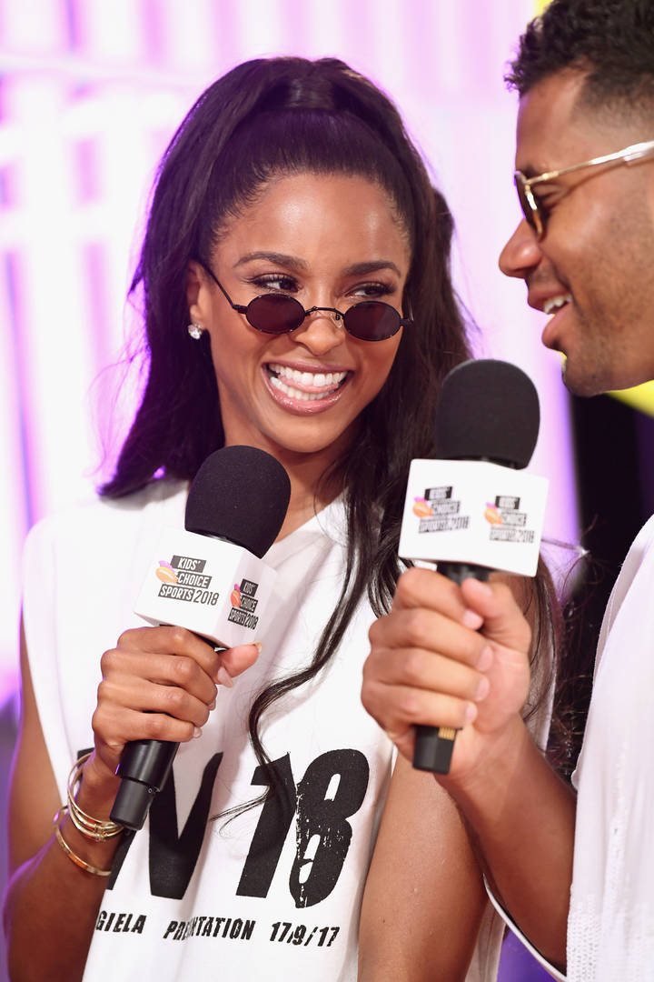 "Ciara Gushes Over Russell Wilson & Wanting To ""Level Up"" Before Meeting Him"