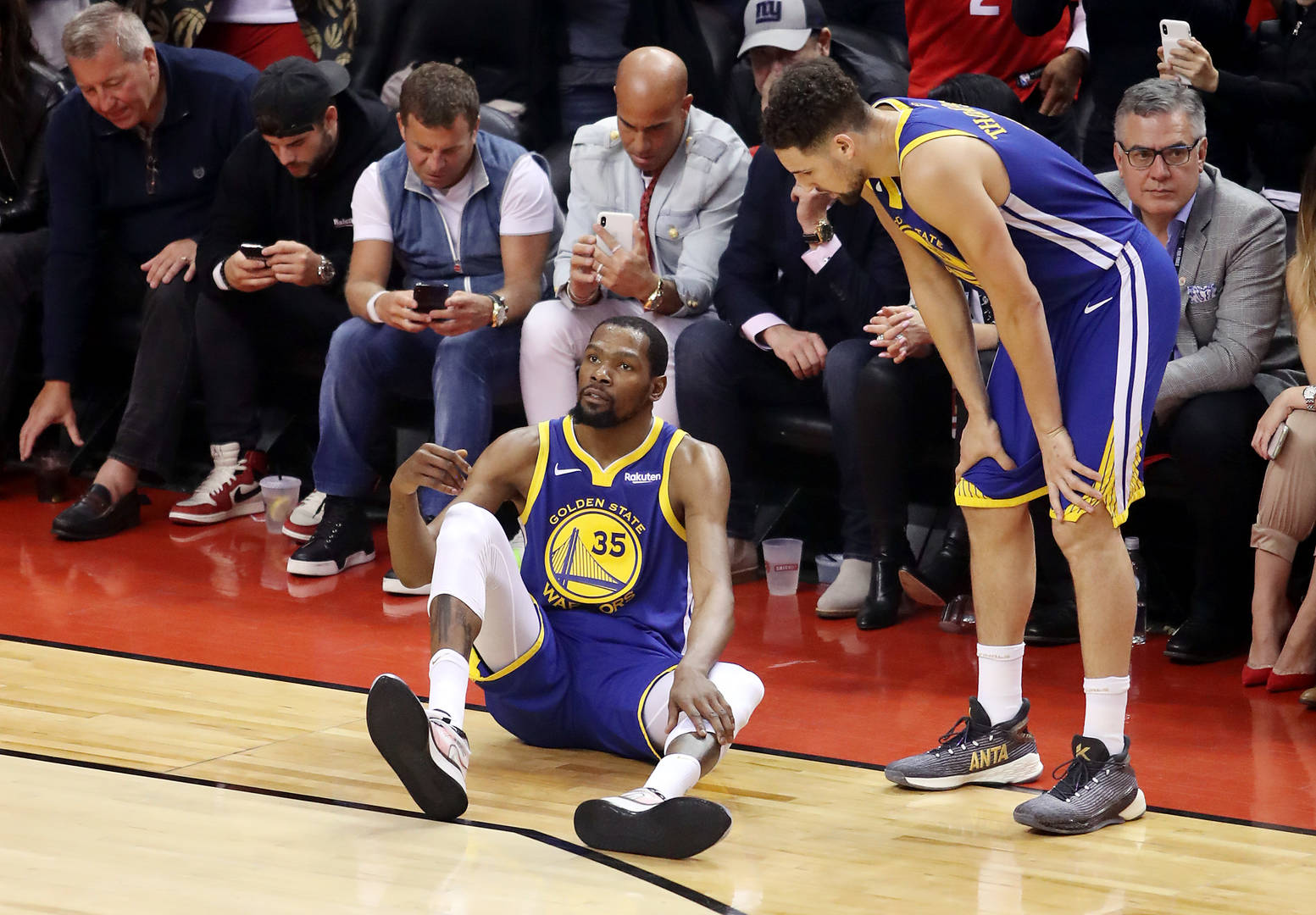 "Kevin Durant & Klay Thompson Have ""Unfinished Business"" After Injuries"