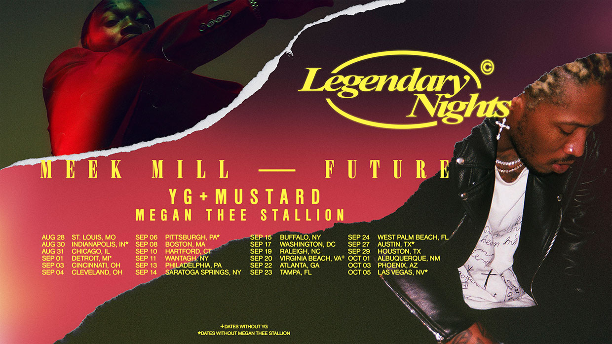 Meek Mill & Future Announce Tour With Megan Thee Stallion, YG & Mustard