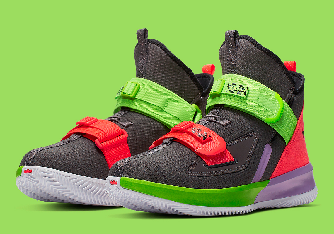 Nike LeBron Soldier 13 Release Date Announced: Official Images