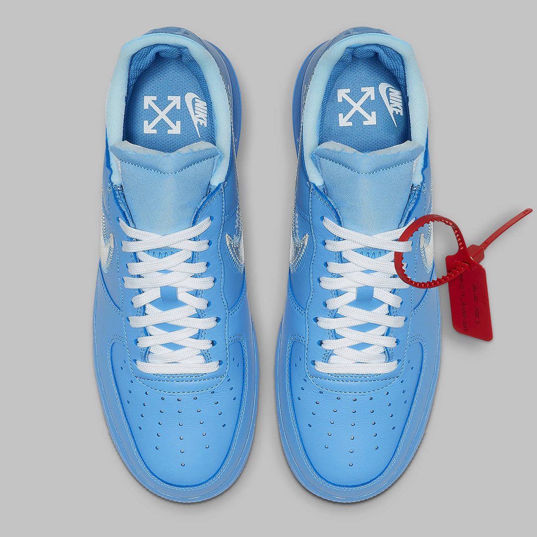 """Off-White x Nike Air Force 1 Low """"MCA"""" Official Images Revealed"""