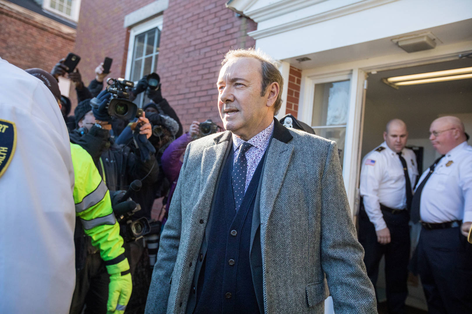 Kevin Spacey Accuser Provides Text Messages From Night Of Incident