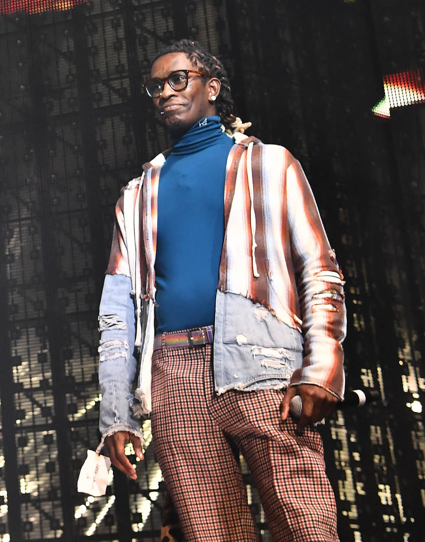 """Young Thug Allegedly Told Journalist He's """"Too Rich To Be Gay"""""""