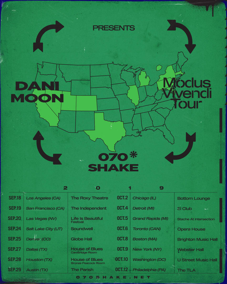 """070 Shake Reveals North American Tour In Support Of Her """"Modus Vivendi"""" Debut"""