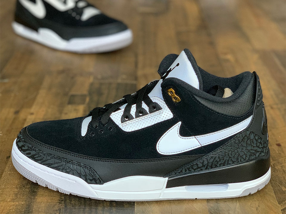 "Air Jordan 3 Tinker ""Black Cement"" Official Images & Release Date"