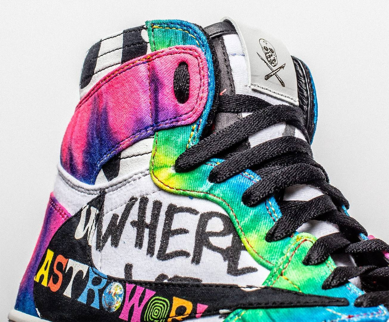"Travis Scott x Air Jordan 1 ""Astroworld"" Customs Releasing For $5,000"