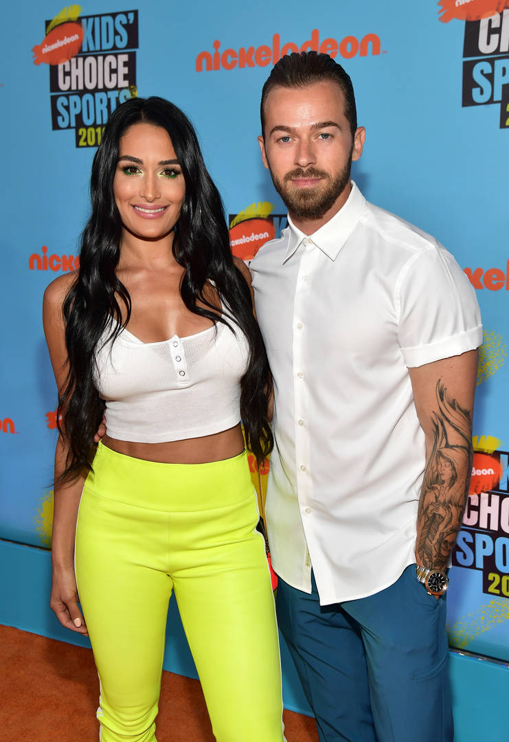 Nikki Bella & Artem Chigvintsev Confirm Relationship With Dance Video