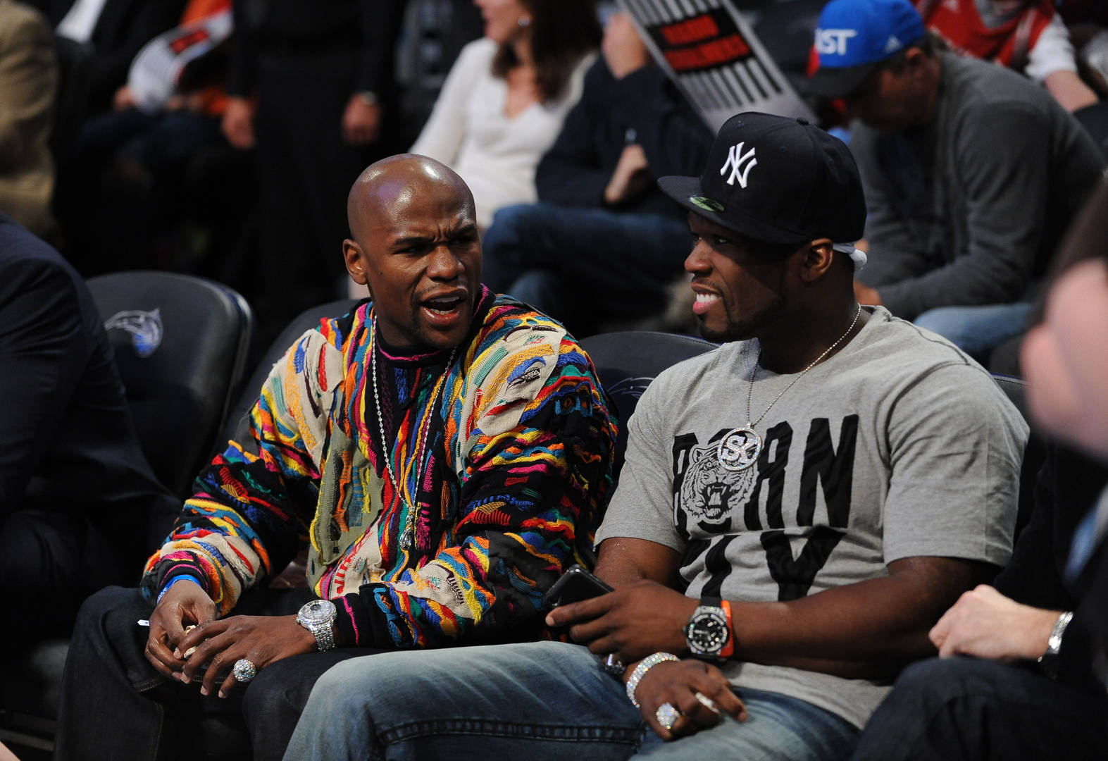 Watch: 50 Cent Trolls Floyd Mayweather About Owing Him Money With Fan-Made Video