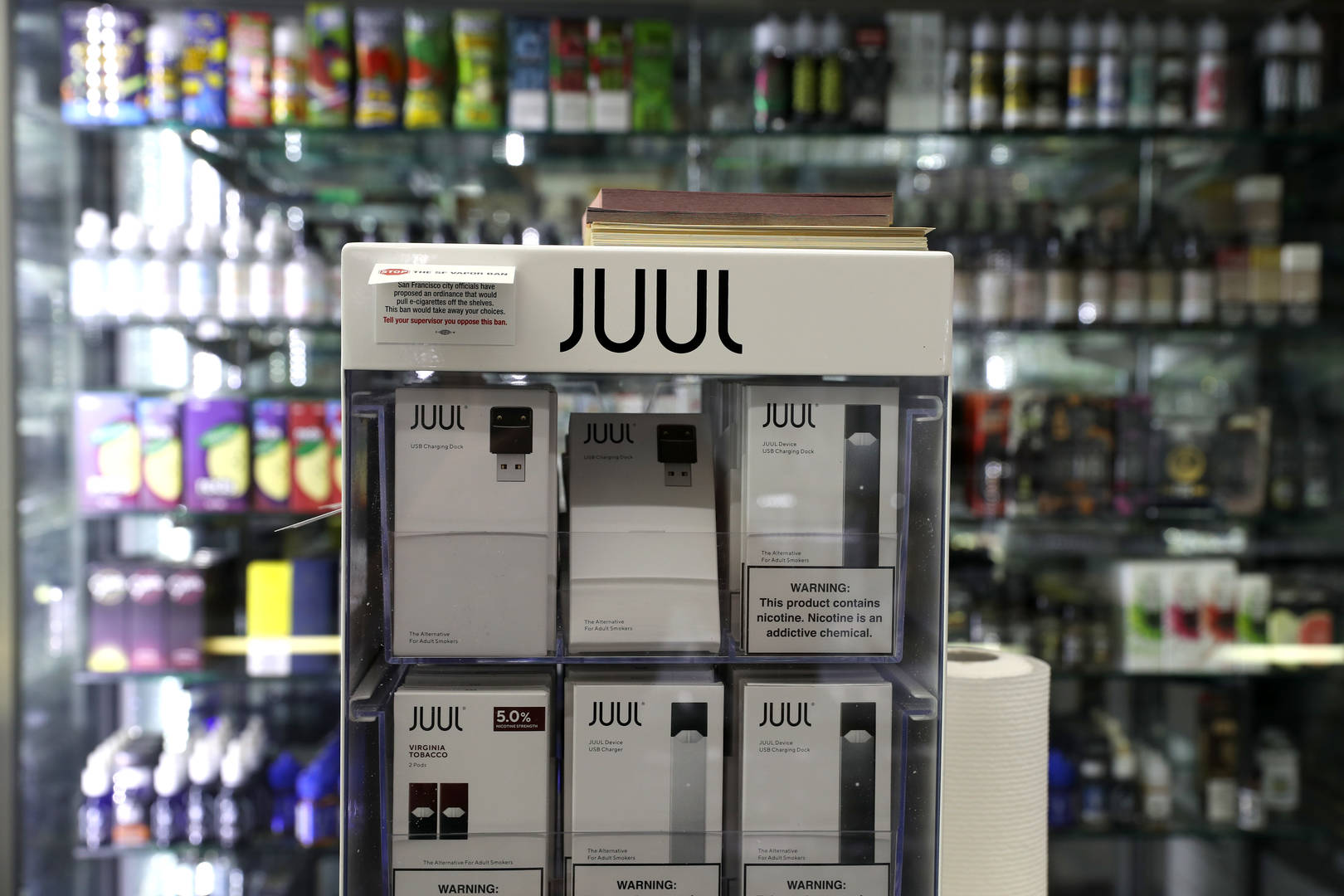 "Juul CEO Apologizes For Teen Vaping ""Epidemic"""