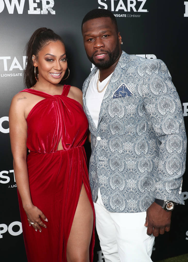 50 Cent Reacts To La La Anthony Winning $68K From A Slot Machine