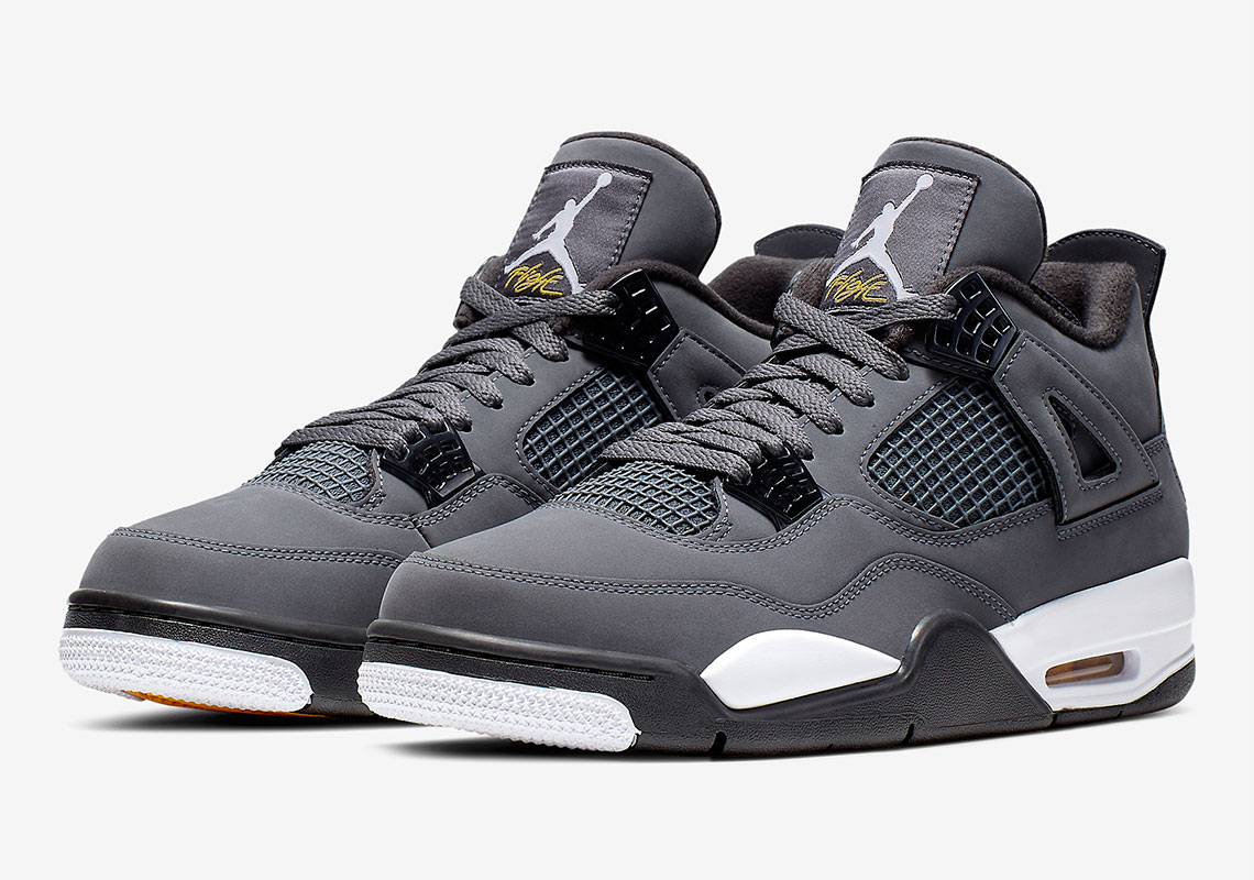 "Air Jordan 4 ""Cool Grey"" Releases Today: Purchase Links"