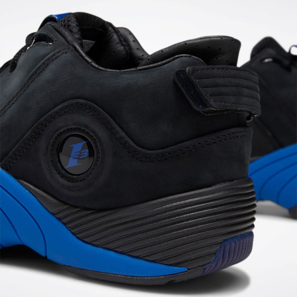 "Allen Iverson's Reebok Answer 5 Releasing In ""Black/Royal"": First Look"