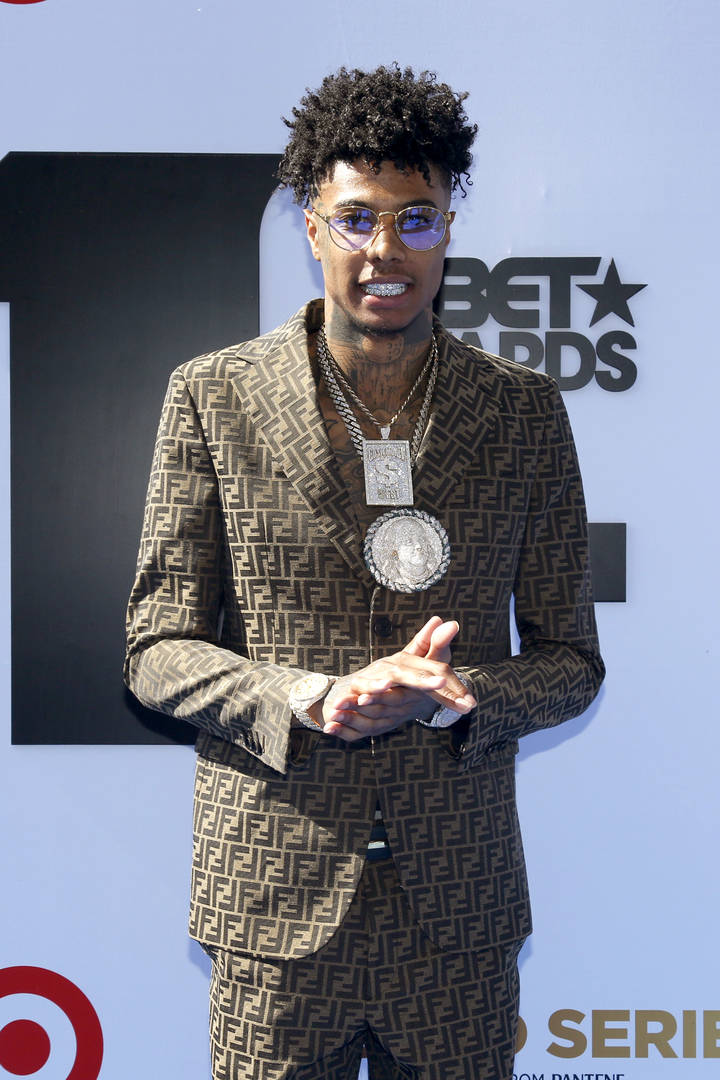 Blueface Films His Baby Mama Getting Into Physical Fight With His Alleged Ex-Lover
