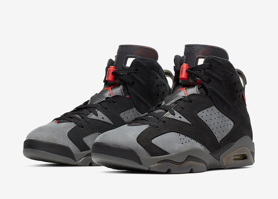 the best attitude 856a3 77c28 Air Jordan 6 PSG Set To Release This Weekend: Official Images