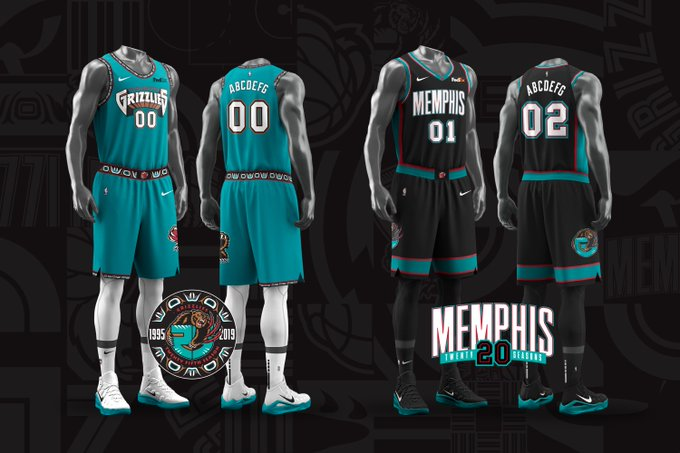 Memphis Grizzlies Bringing Back Classic Throwback Uniforms: First Look