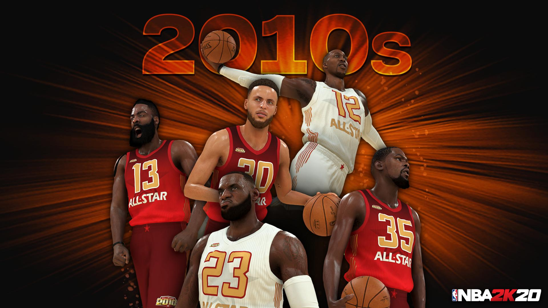 """NBA 2K20 Reveals All-Decade """"Legendary Team"""" Rosters: First Look"""