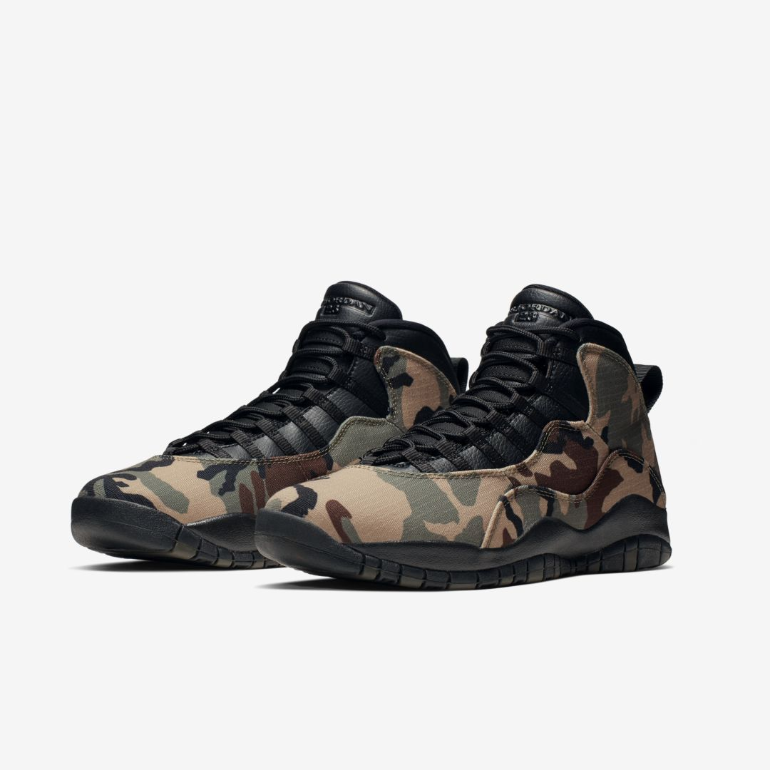 "Air Jordan 10 ""Woodland Camo"" Official s, Release Date Announced"