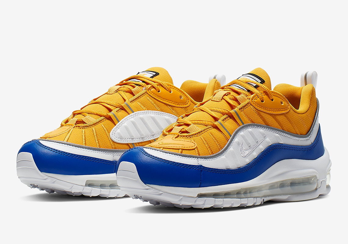 sports shoes 2dc14 b5816 Warriors-Themed Nike Air Max 98 Coming Soon: Official Images
