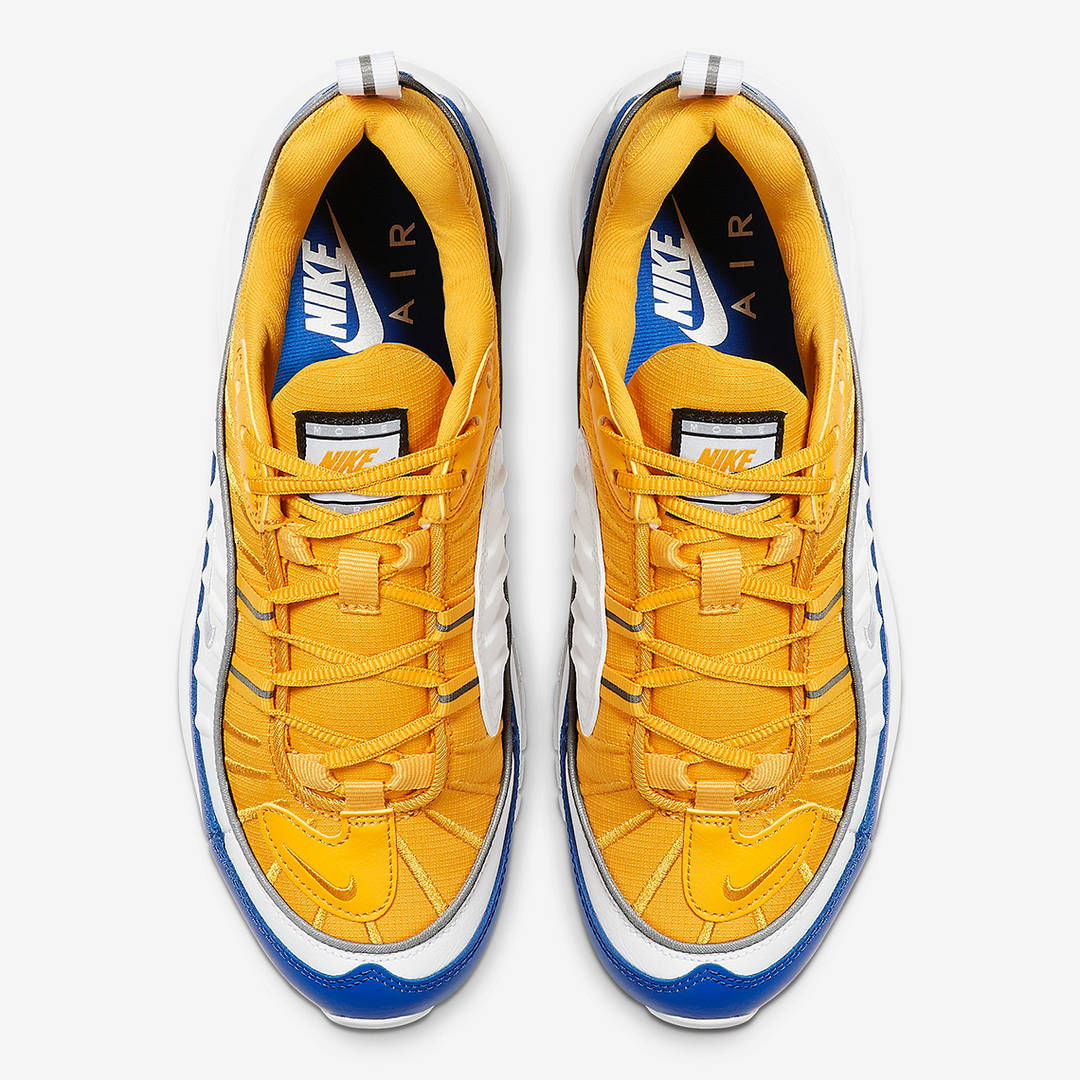 Warriors-Themed Nike Air Max 98 Coming Soon: Official Images