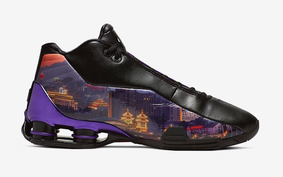 "Nike Shox BB4 ""China Hoop Dreams"" Arrives This Week: Official Photos"