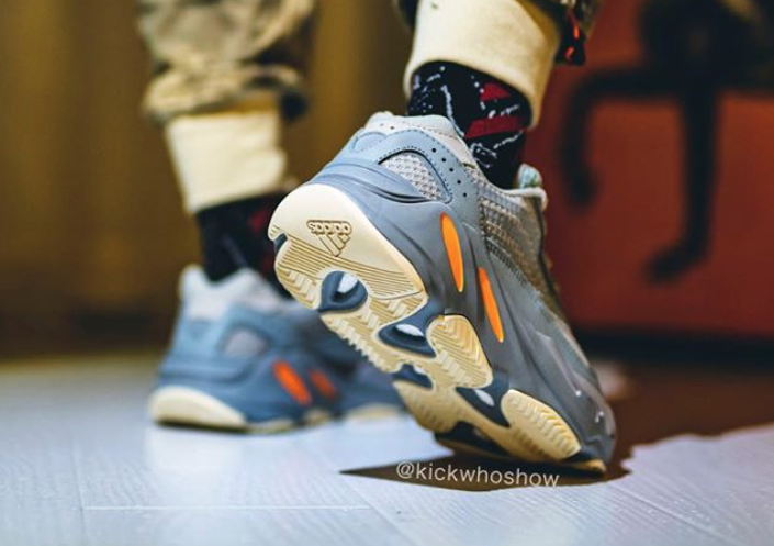 "Adidas Yeezy Boost 700 V2 ""Inertia"" Coming Soon: On-Foot Images Revealed"