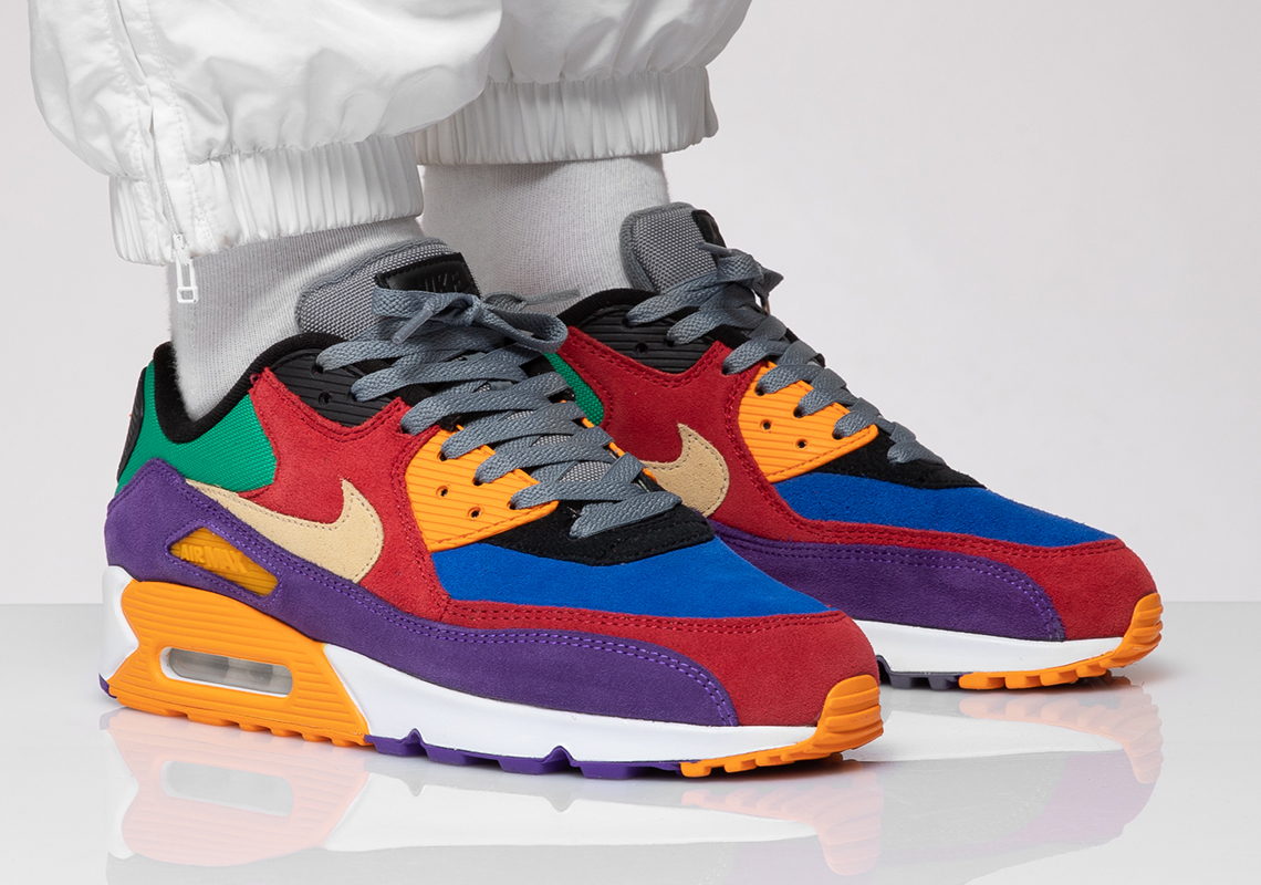 "Nike Air Max 90 ""Viotech"" Coming Soon: On-Foot s"