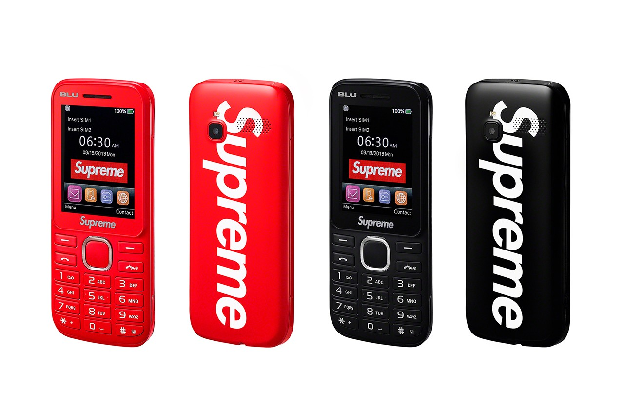 Supreme Unveils Fall/Winter 2019 Collection: Phones, Dirt Bikes & More